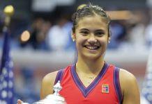 Emma Raducanu celebrated in China for her heritage