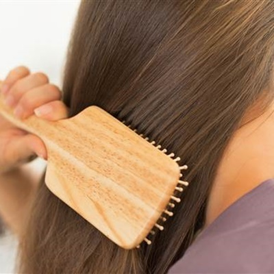 #7 The easiest way to have perfect hair in the morning is just brushing your hair before going to bed; helps avoid locks and tangles.
