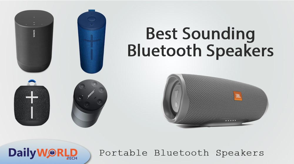 best-sounding Bluetooth speakers