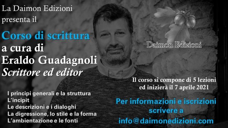 Eraldo Guadagnoli corso di scrittura