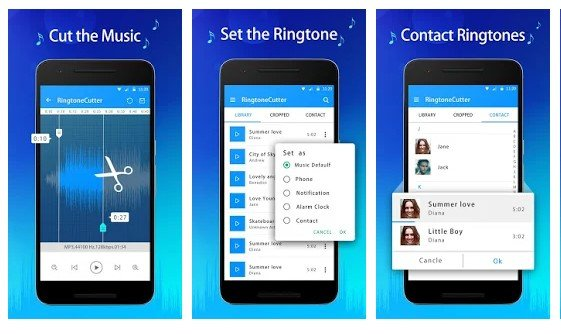 List of 11 Best Ringtone Maker Apps For Android,Hindi