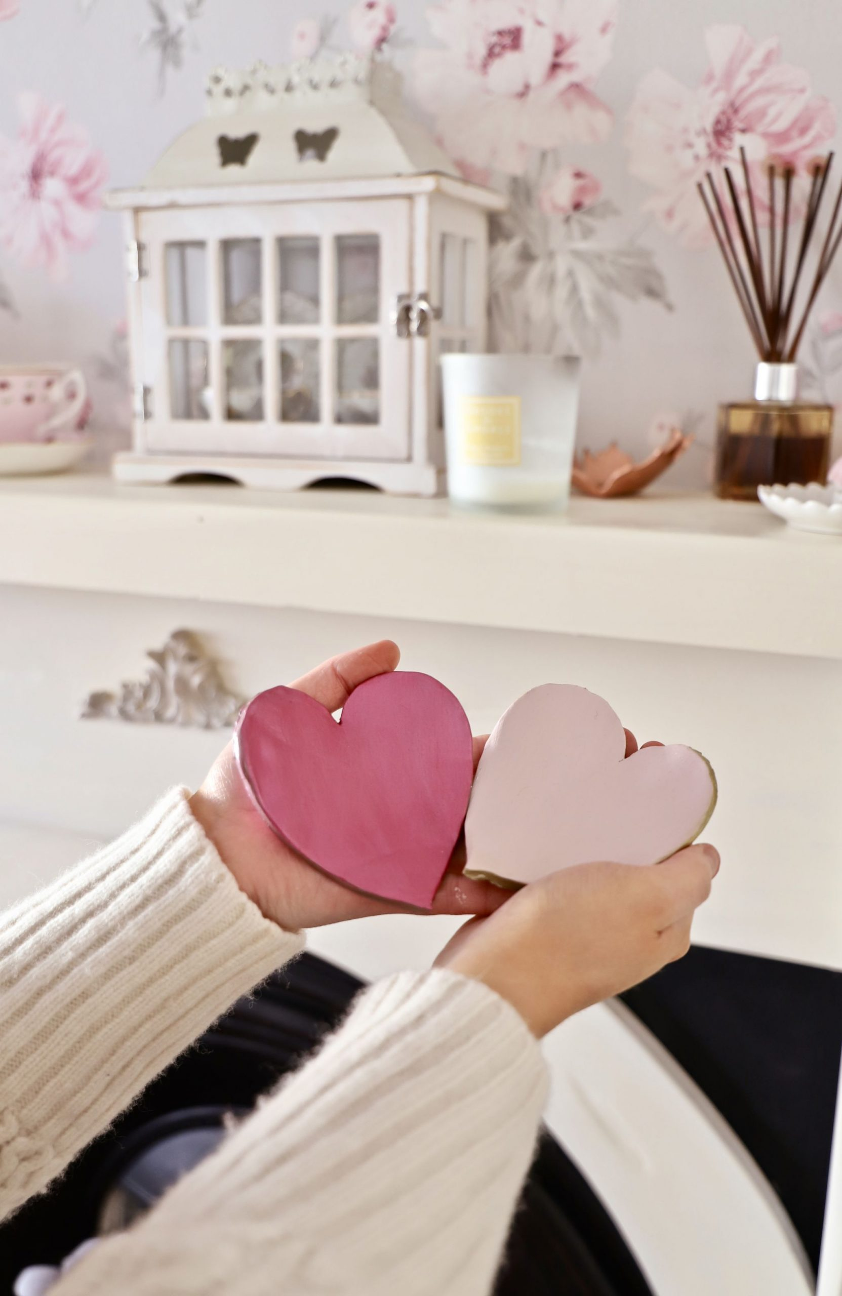 Valentine's day gift DIY, Love heart trinket dish