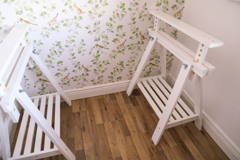 Ikea Finnvard table legs hack