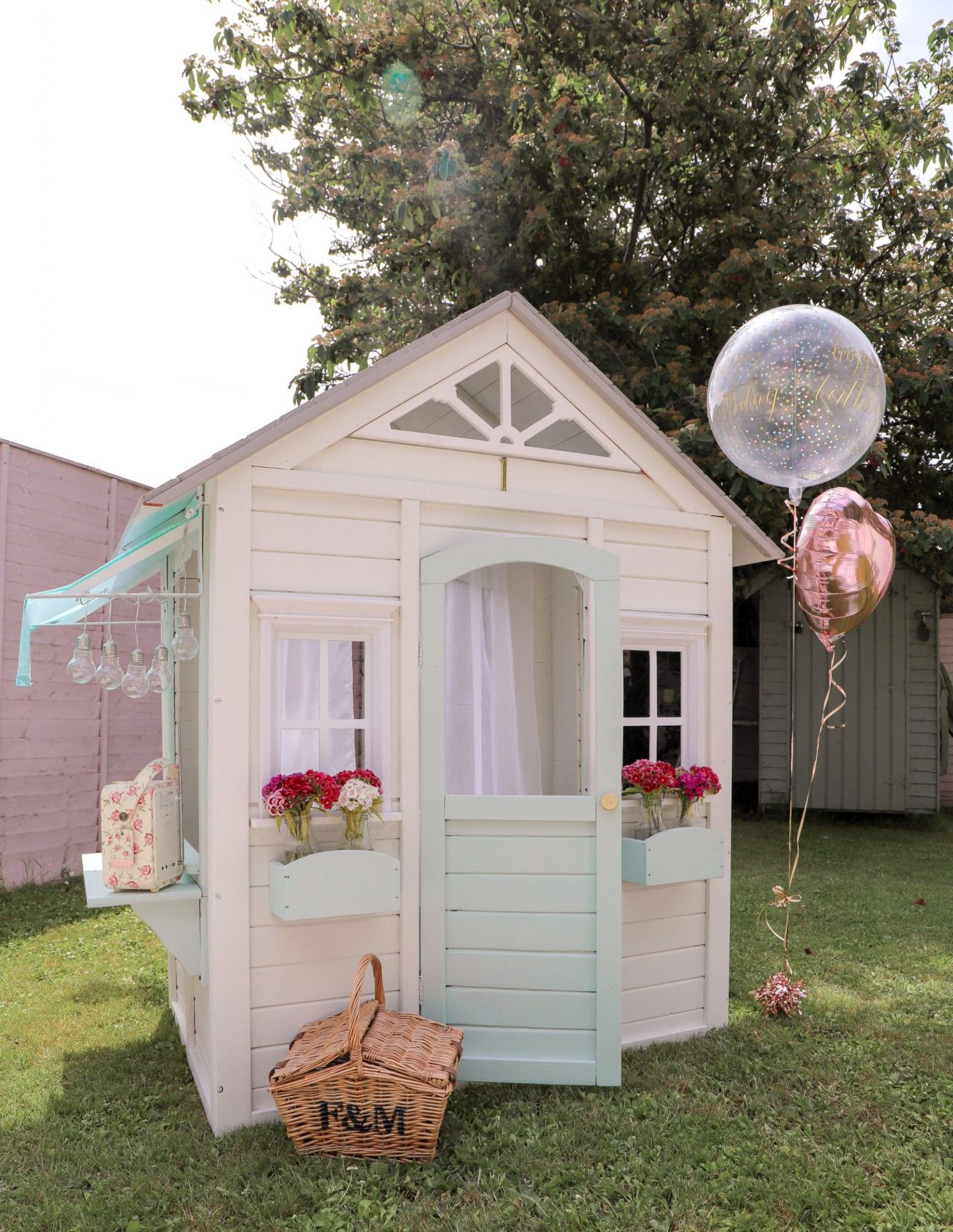 Cubby playhouse makeover