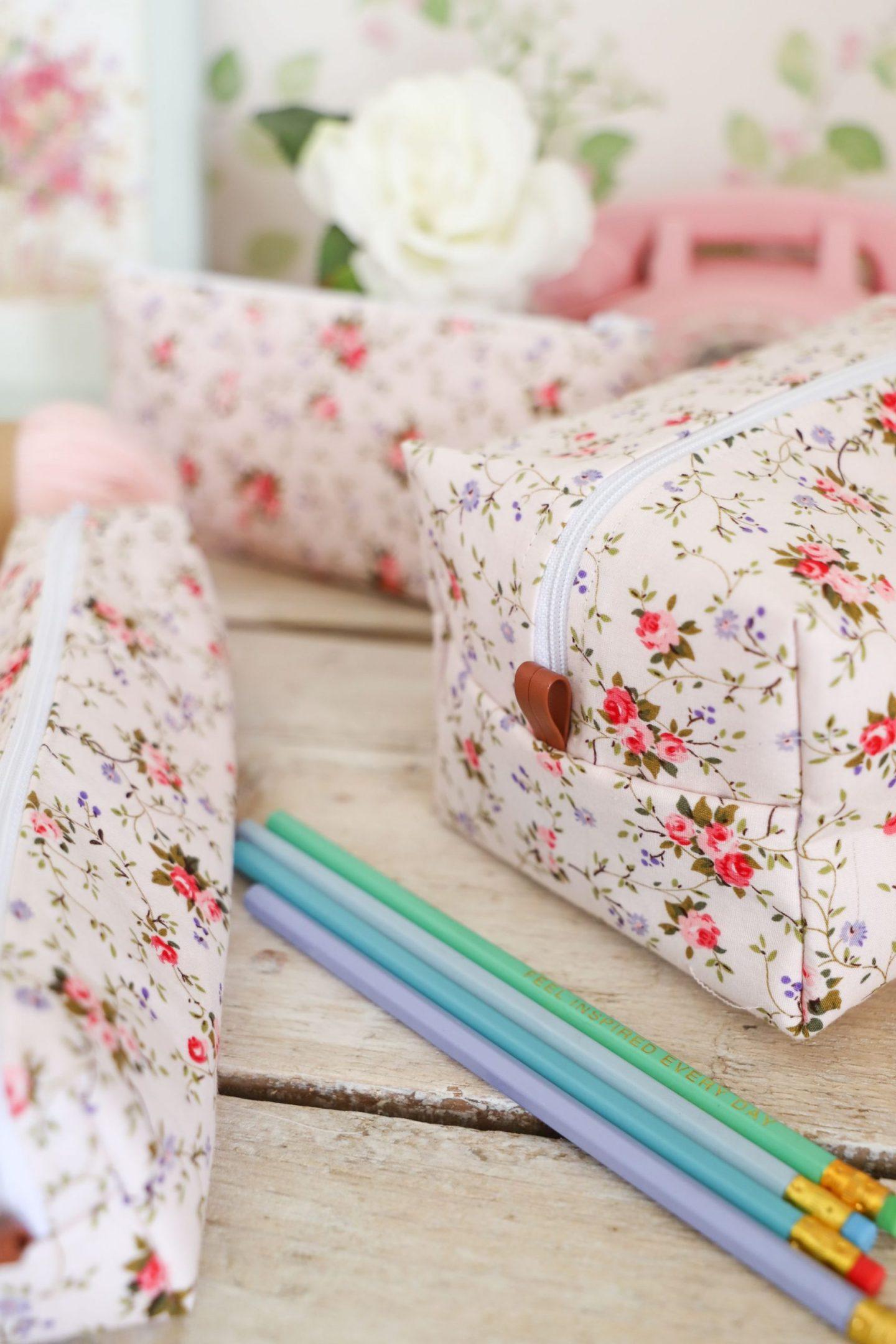 DIY box pouch