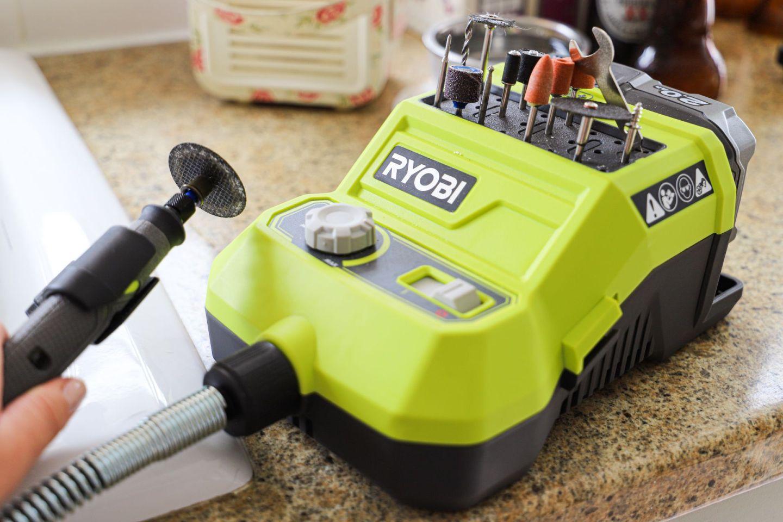 Ryobi rotary cutting tool
