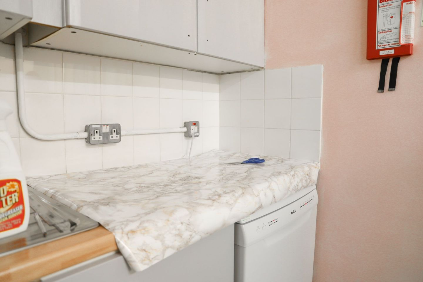 How to paint laminate/MDF kitchen cabinets