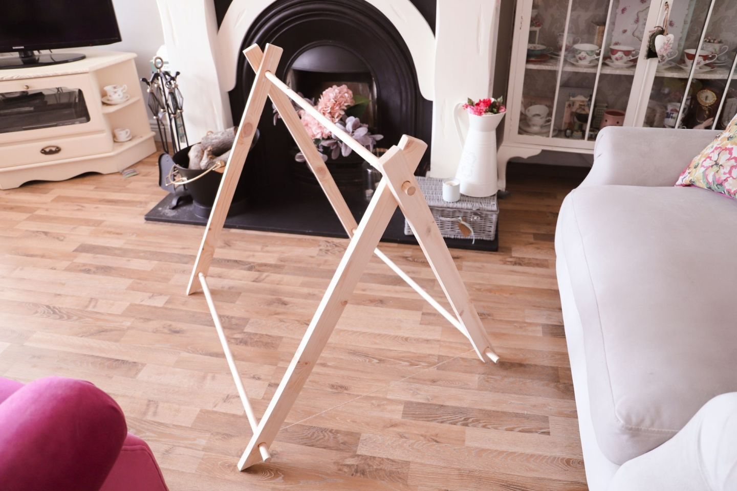 How to make a wooden tent