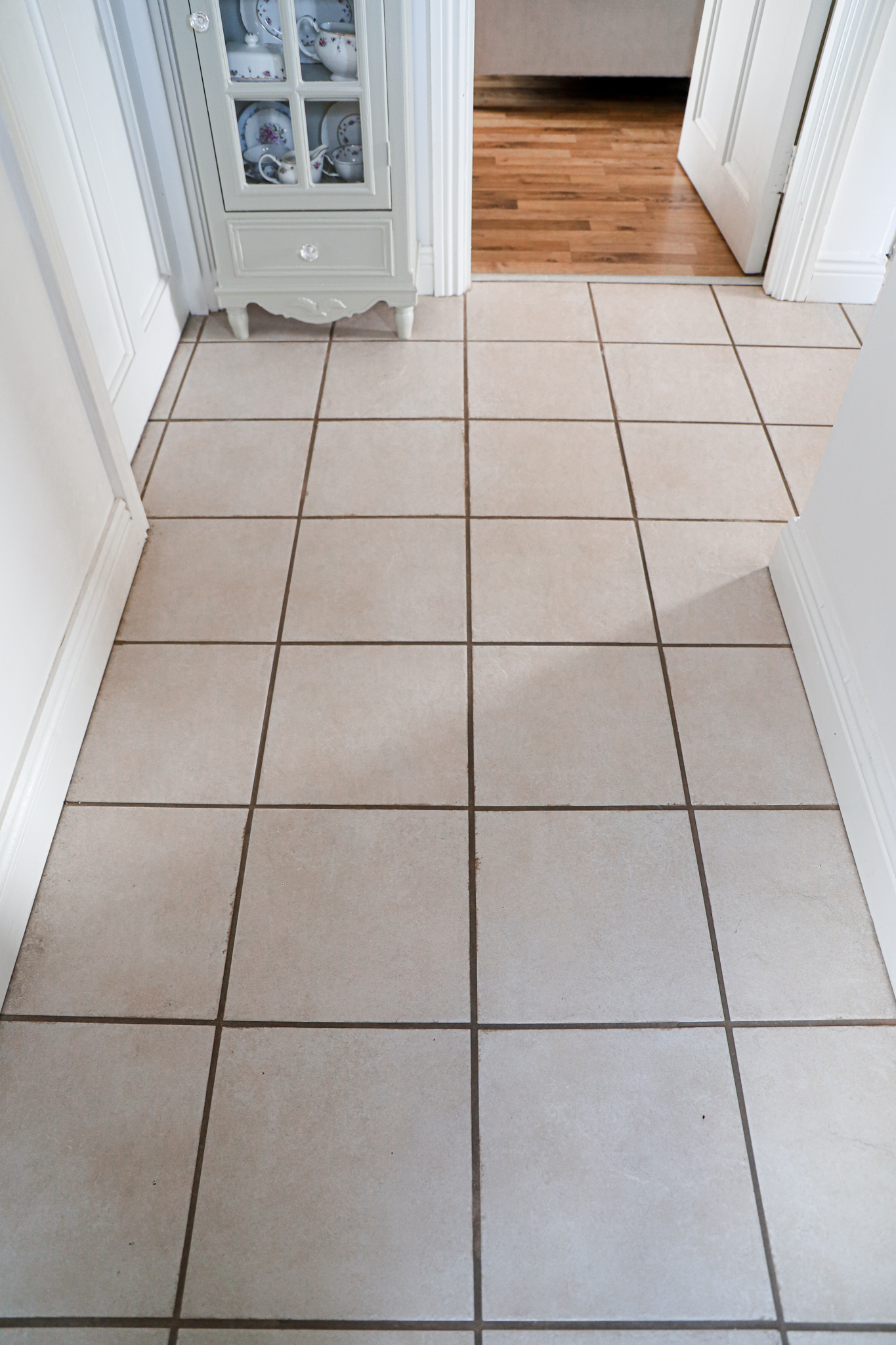 Revive old grout