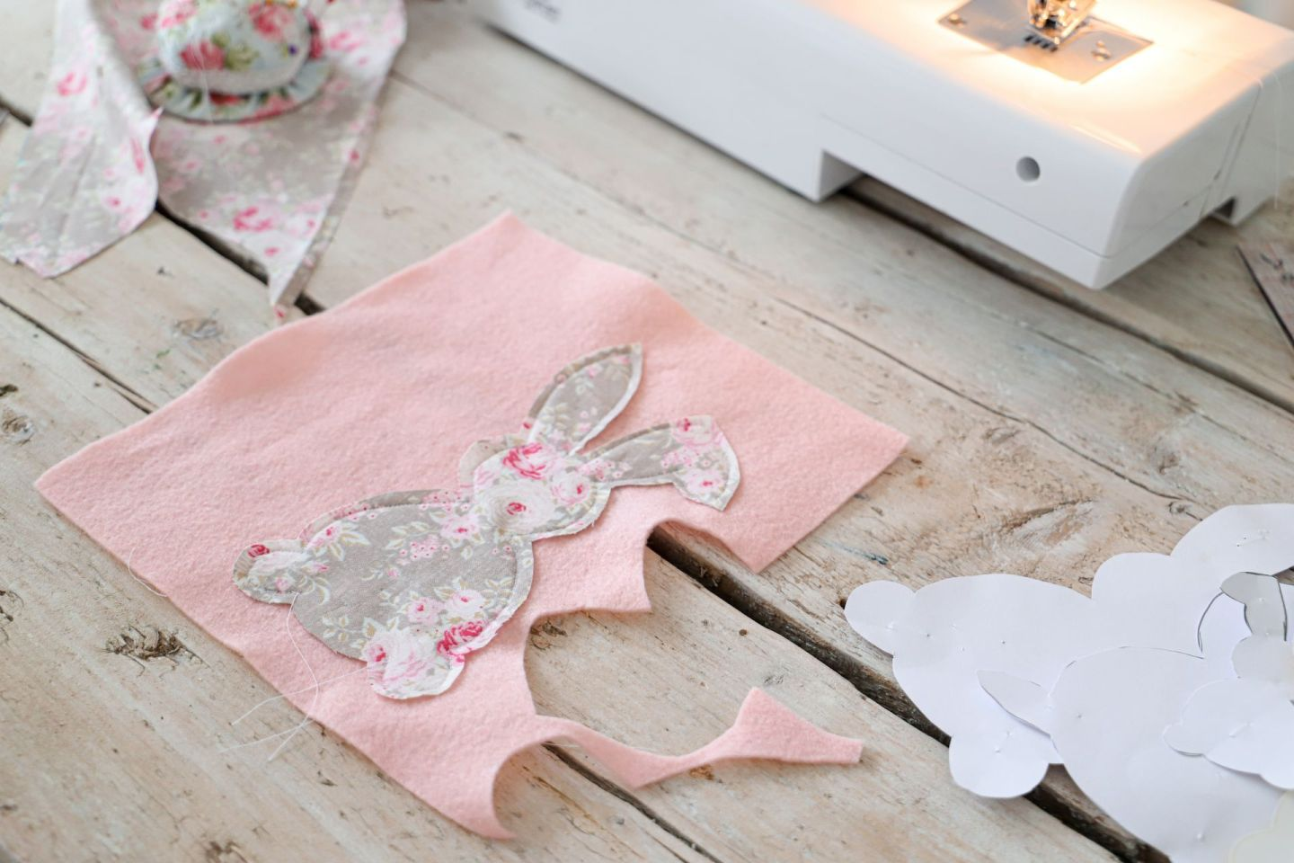 Easy sew easter bunny