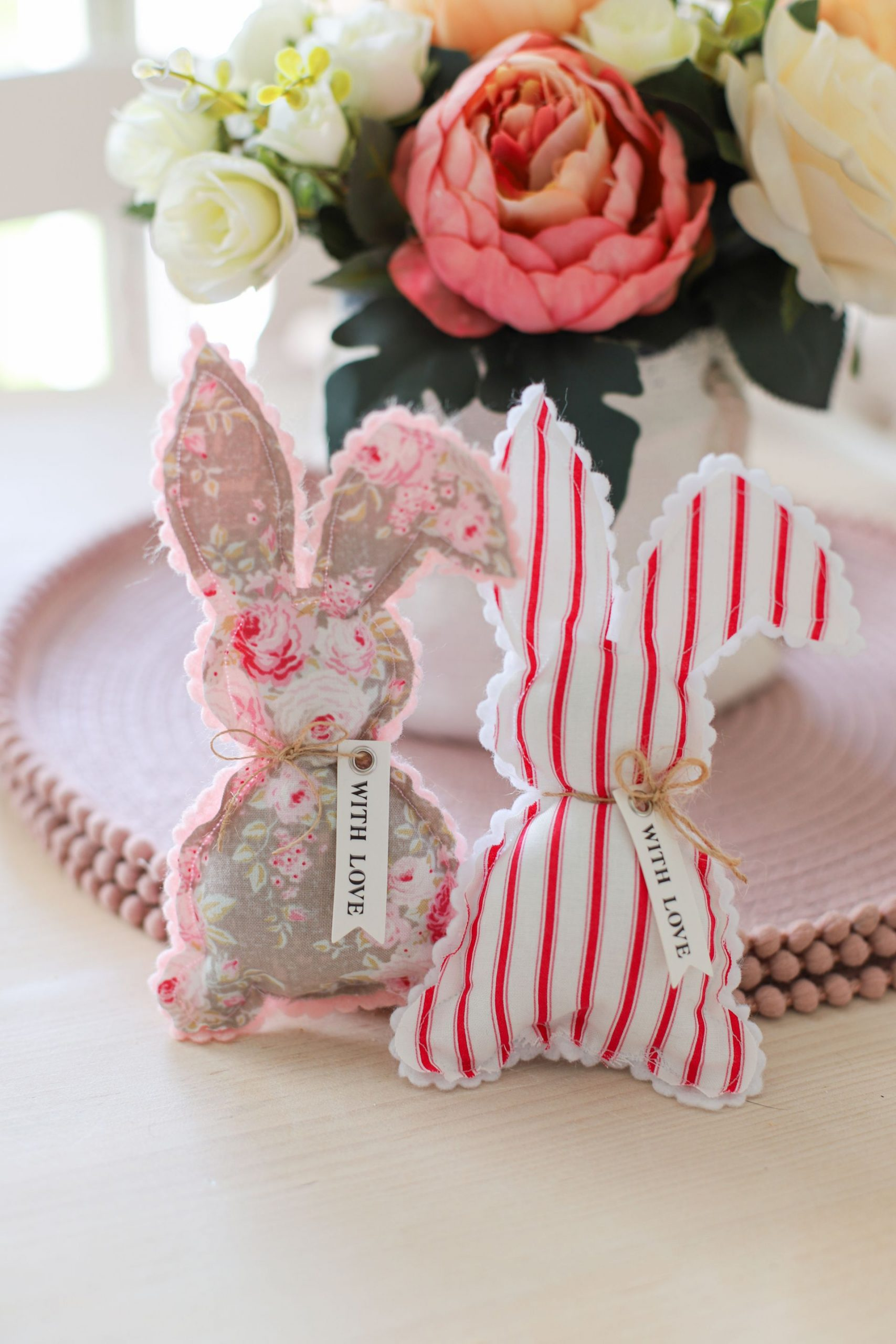 Easy Sew Easter Bunnies