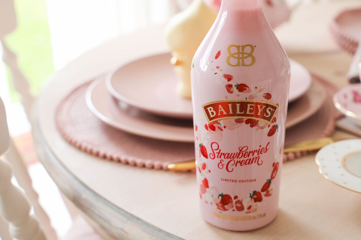 Baileys stawberries and cream