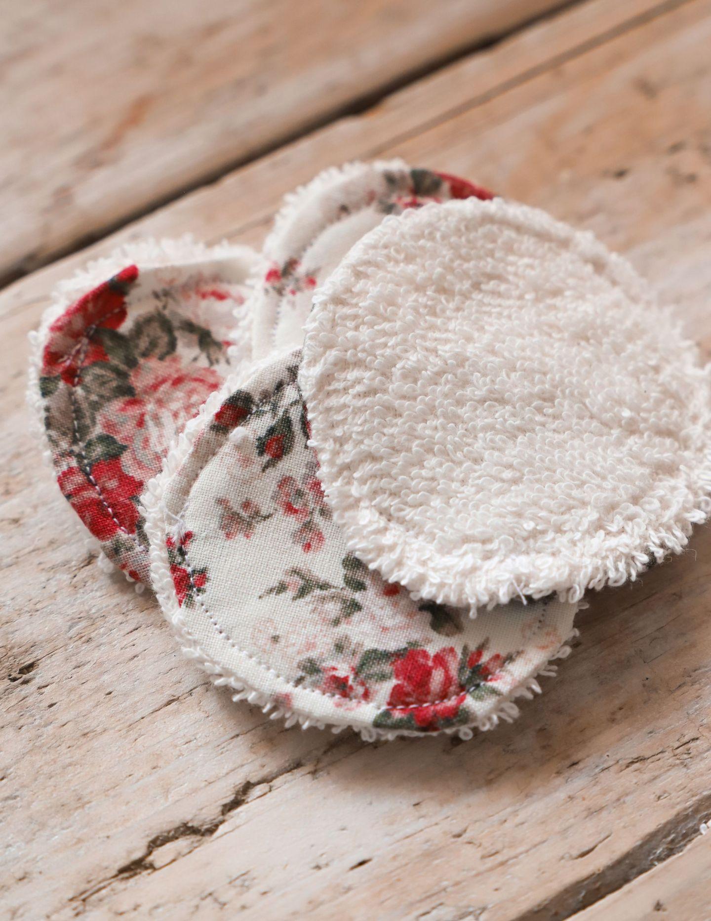 How to sew reusable makeup pads
