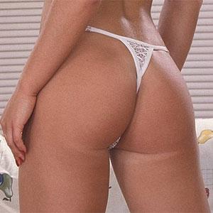 sexy ass thong blowjob