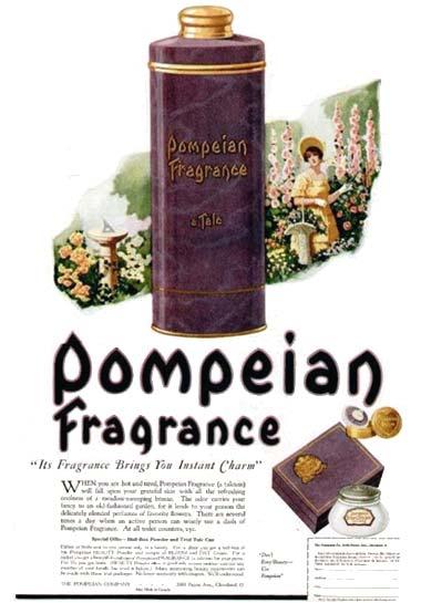 1920 pompeian - La Belleza en la Época Eduardiana