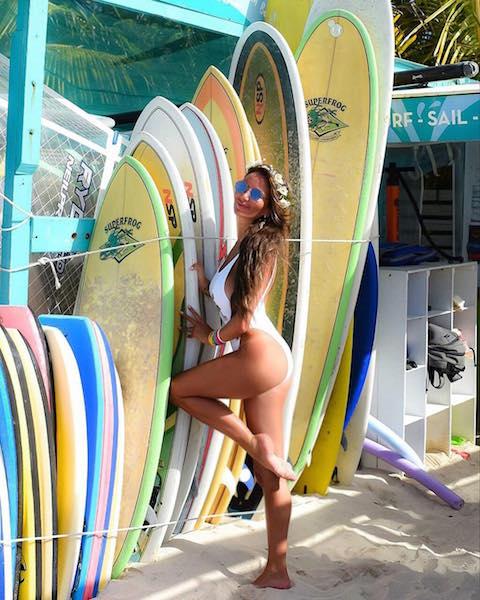 ingrid surf bahamas - The Method de Ingrid de la Mare