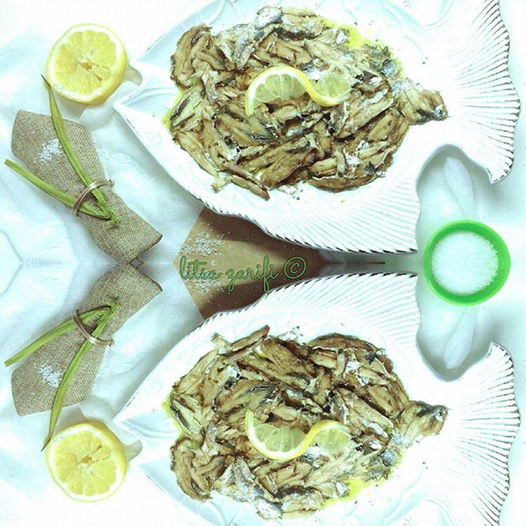 Σαρδέλες με λαδολέμονο