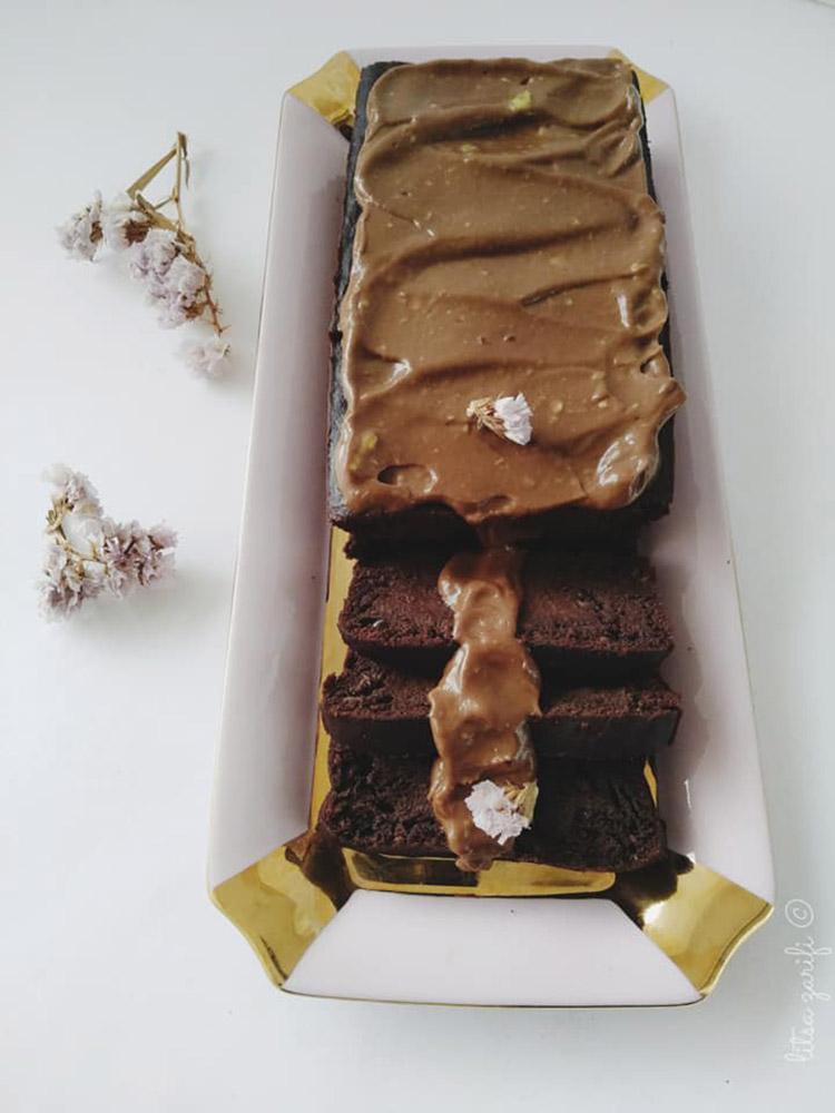 Choco-honey cake