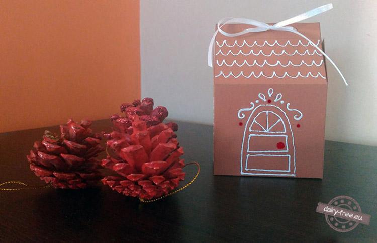 Χριστουγεννιάτικα χάρτινα σπιτάκια
