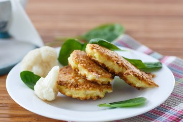 fried cauliflower patties