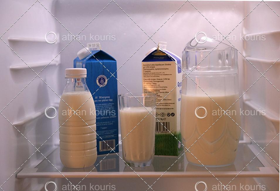 Τι παθαίνει το γάλα όταν το αποθηκεύουμε σε συνθήκες ψύξης?