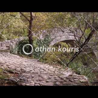 Πέτρινο γεφύρι Βοϊδομάτη στην Κλειδωνιά διάρκειας 11 sec V-1046