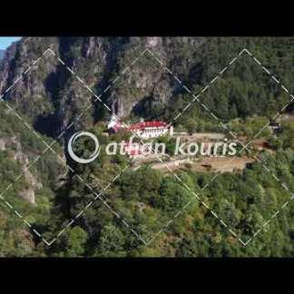 αγορά πλάνα βίντεο on line Μονή Στομίου Κόνιτσας διάρκειας 14 sec V-1025