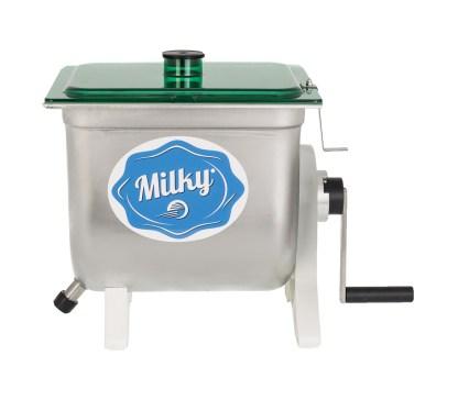 πρωτοσέλιδο - Χειροκίνητη μηχανή παρασκευής βουτύρου - Βουτυροκάδη – Βουτυρομηχανή - Milky FJ 10 Η