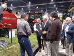 Pennsylvania Governor Tom Corbett toured the Today's Ag Display and got to talk to some of the people there about their farms and businesses.