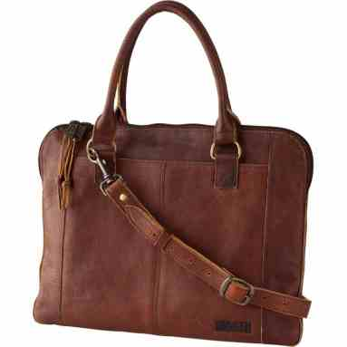 Duluth Trading Company Leather Bag