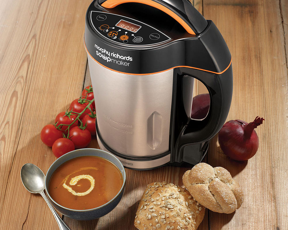 Win a Morphy Richards Soup Maker