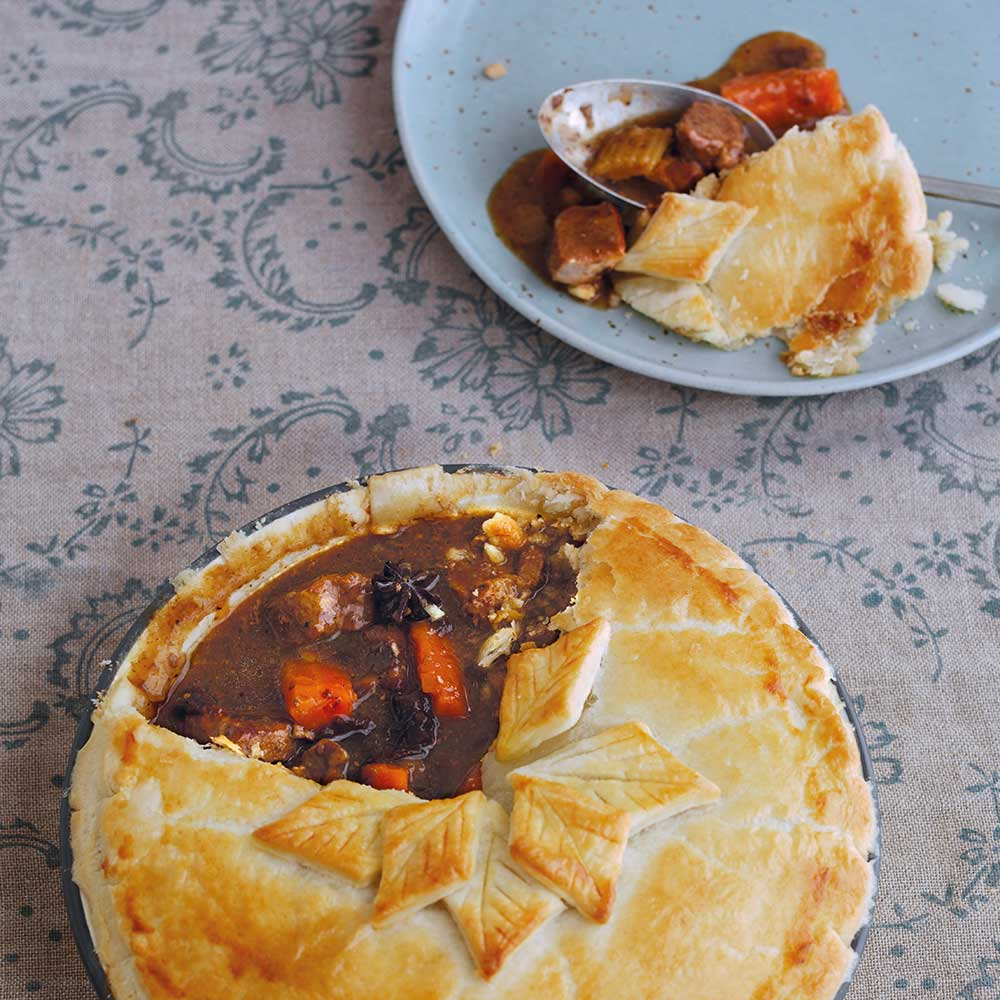 Pork & Prune Pie