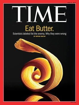 Time magazine eat butter.