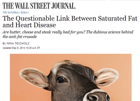 WSJ saturated fat