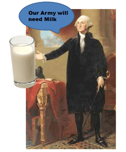 George Washington milk