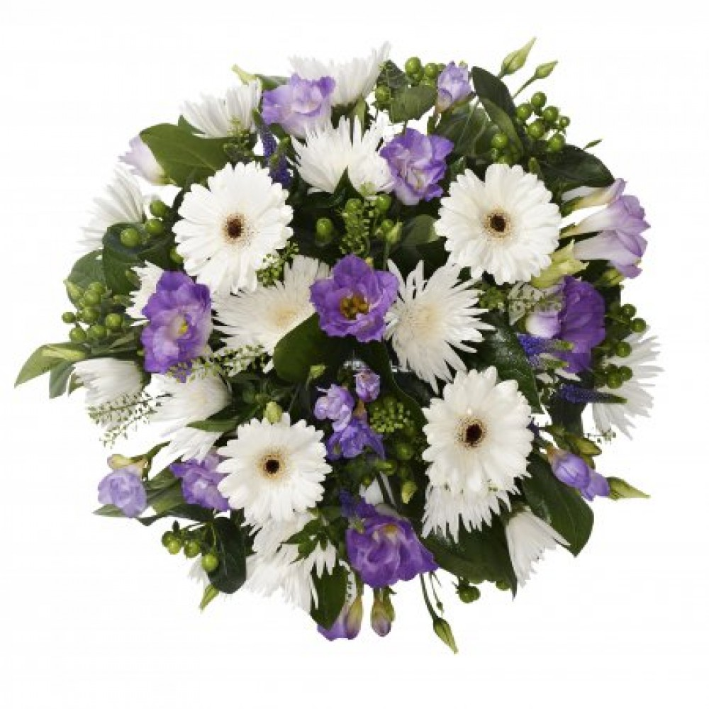 Funeral Posy Daisy Chain Flowers