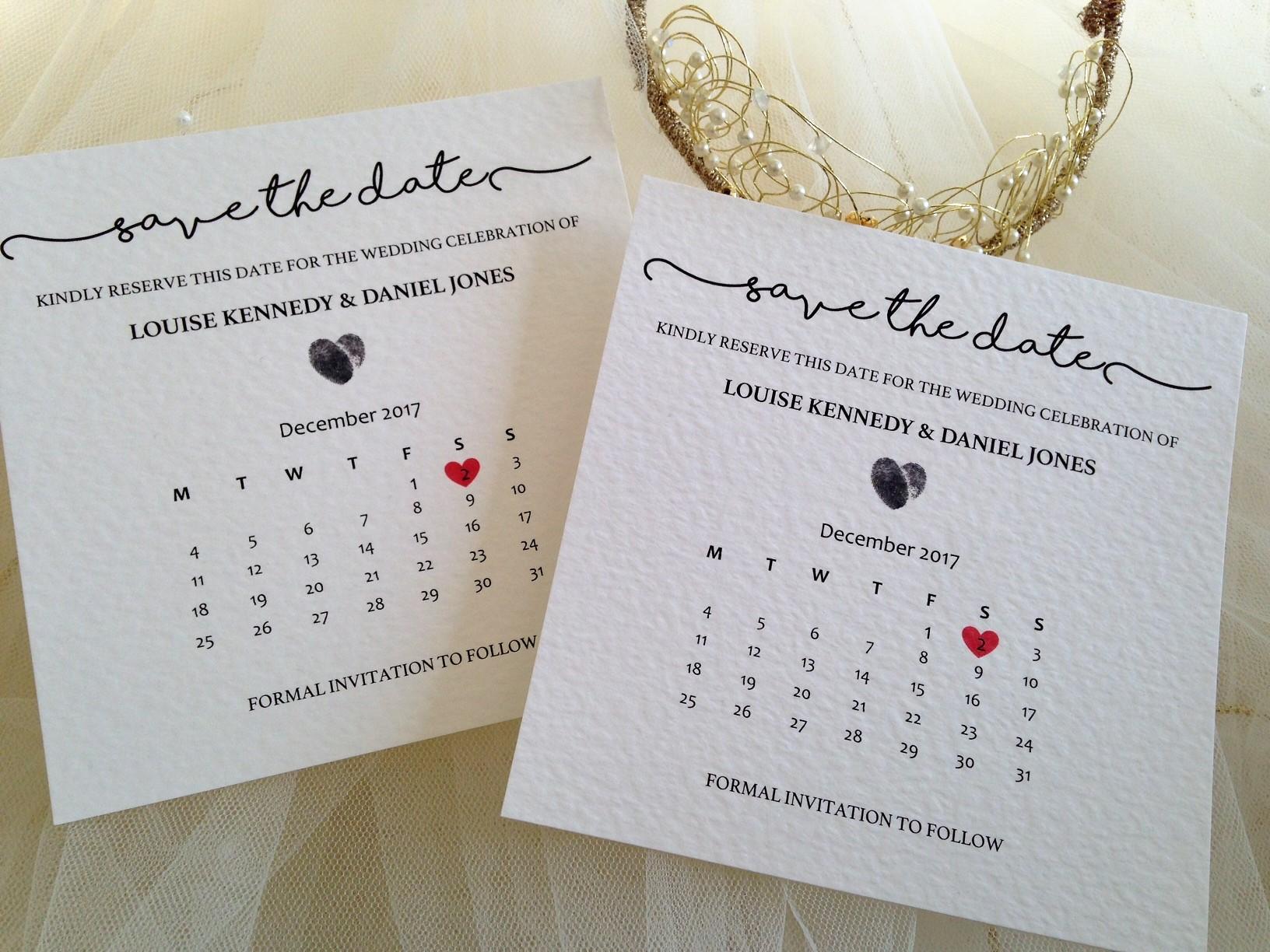 Printed Christening Invites