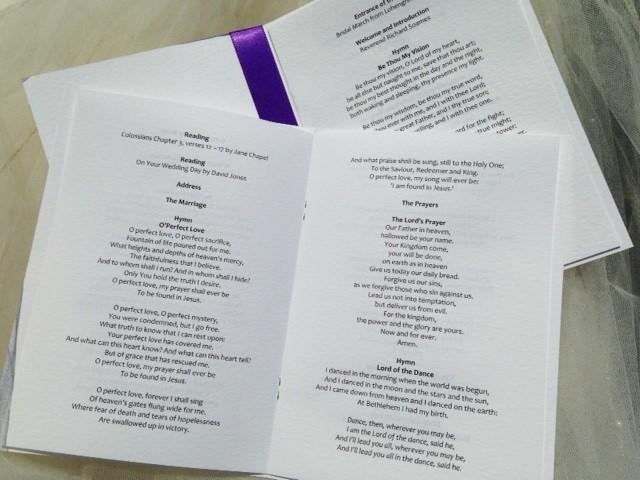 Pre Printed Wedding Invitations