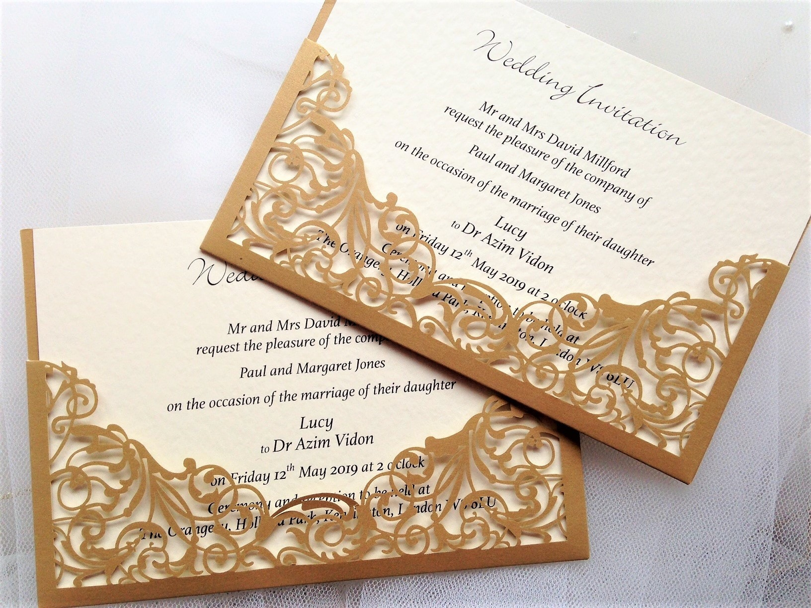 Cheap Personalised Wedding Invitations