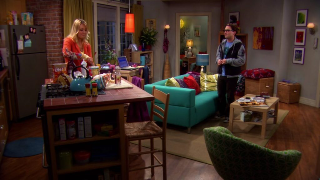 Living Room Penny Big Bang Theory