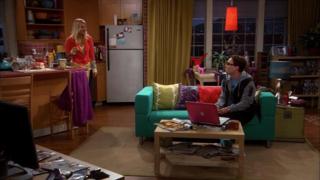 Living Room Penny Big Bang Theory