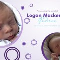Birth Announcement - Bubbles