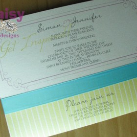 Paisley Pocket invitation details