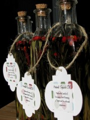 Spiced Oil Gift Tag