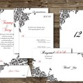 Patterned Invitation Template Package