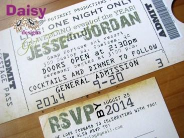 Concert Ticket package