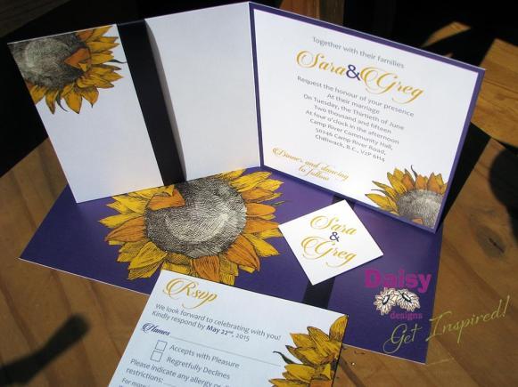 Sara's Sunflower suite