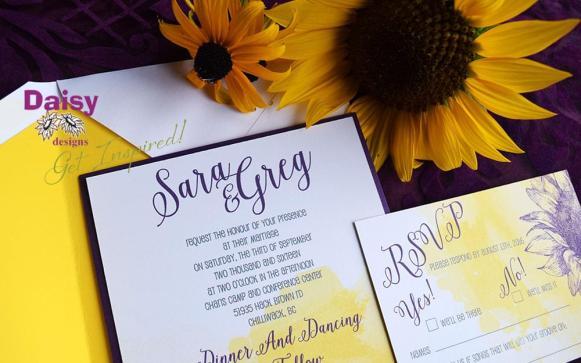 Citrine Sunflower Suite Layered