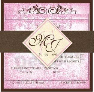 Pink package