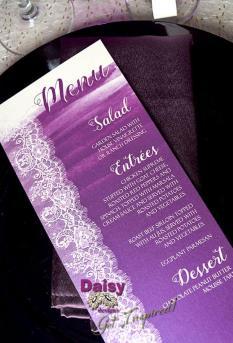 majestic purple lace menu